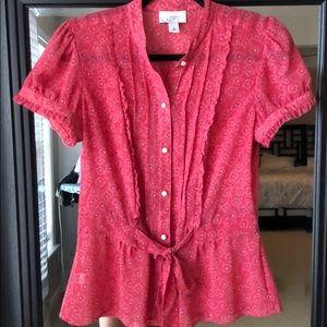 Loft blouse- size 6